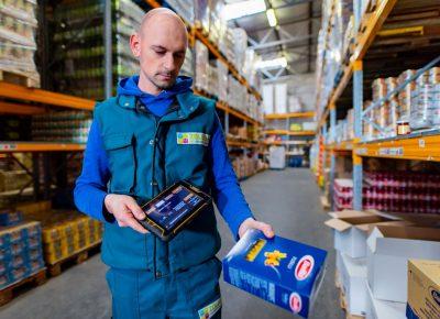 Készletfogyás alapú termékpótlás és szállítás
